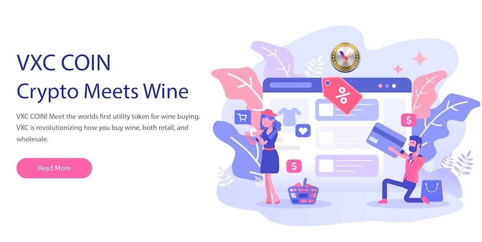 VXC Buy Wine Coin Launch